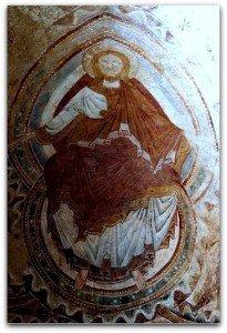 Christ de l'abside sud
