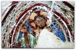 Le Christ dans sa mandorle