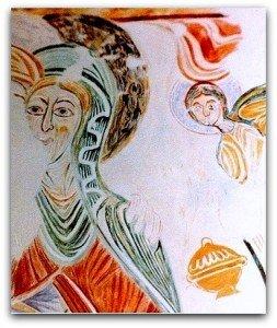 Souday (Loir et Cher),reproduction sous verre.