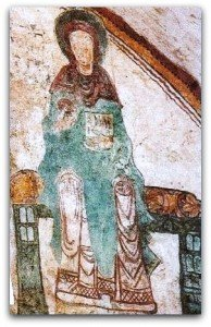 Vierge de l'annonciation à Notre Dame du Vilar