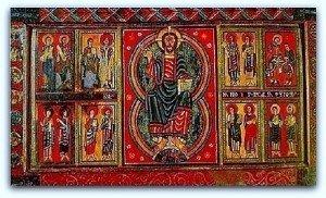 Antépendium de St Martin d'Hix