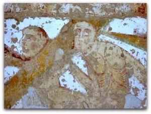 Les morts sortant de leur tombeau à Thevet St Julien
