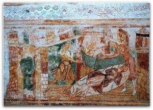 St Savin;l'ivresse de Noé