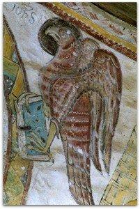 l'aigle de St Jean à St Jacques des Guerets(Loir et Cher)