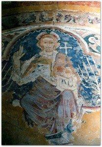 Christ en gloire;Auxerre(cathédrale)