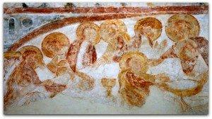 La Cène à la chapelle de Rouillac(Lot)