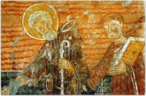 Saint Séverin et son assesseur