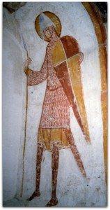 Un combattant du XII ième siècle à Areines