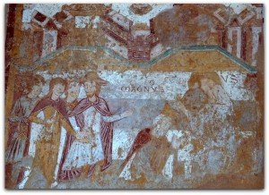 Milon et Charlemagne au Loroux Bottereau