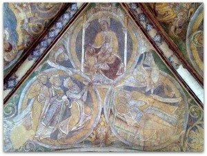 Voutain Vierge à l'enfant Offrandes des mages Songe des mages