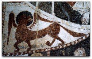 Caldégas,le lion de St Marc
