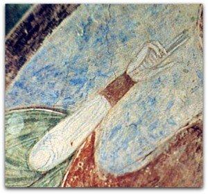 Main droite du Christ à Argenton les vallées