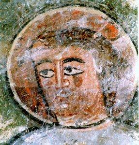 Visage de l'apotre Jean