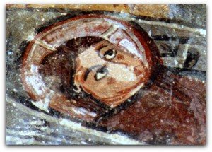 Nativité,l'enfant dans son berceau