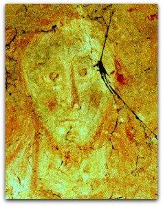 Etrange visage du Christ de Parçay-Meslay