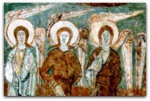 Les anges de Saint-Chef dans archeologie saint-chef-det0024-300x202