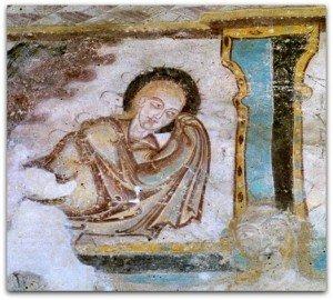 St Jacques des guérets,détail de la crucifixion