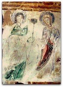 Souday (Loir et Cher)Ange Gabriel et Vierge debout