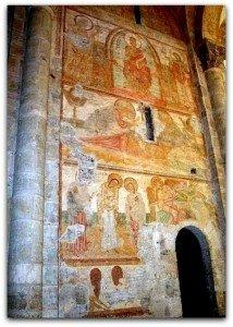 Ensemble des peintures au bras nord du transept