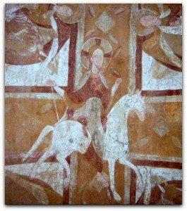 Christ à cheval d'Auxerre