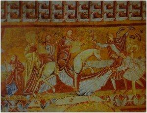 L'entrée du Christ à Jérusalem à Vic