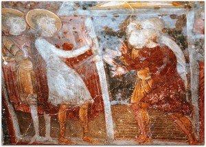 St Savin et St Cyprien et le peuple d'Amphipolis