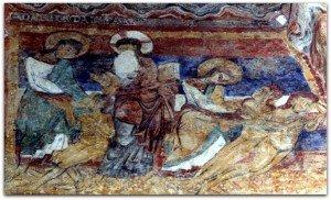 Les Salles Lavauguyon,la création d'Adam et Eve