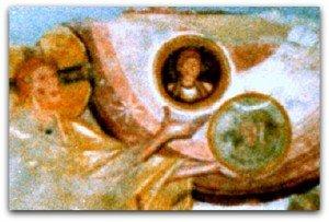 St Savin,la Création du Soleil et de la Lune