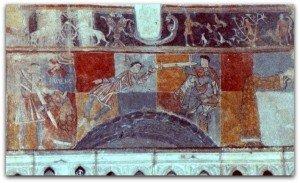 Martyre de Sainte Valérie (détail)
