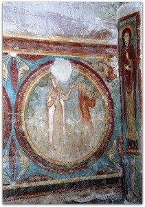 Médaillons renfermant des personnages à St Emilion