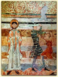 St Clément et le martyre de St Pancrace