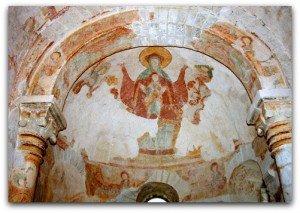 Voute de l'abside et arc triomphal
