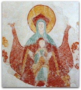 Vierge à l'enfant de Palluau sur Indre