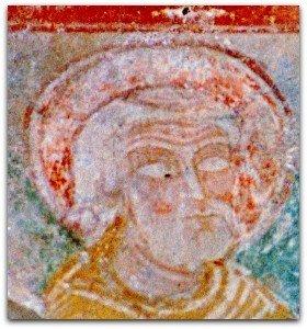 Visage du vieillard Simeon