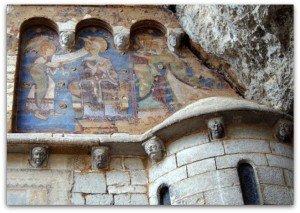 fresques exterieures à Rocamadour
