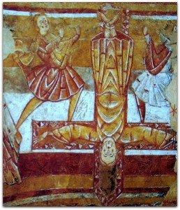 Crucifixion de St Pierre à Vic