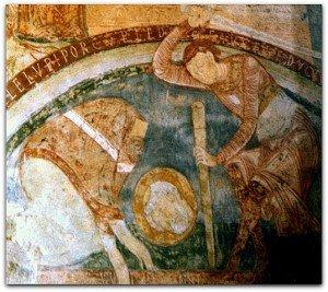 Martyre de Saint Blaise à Berzé la ville
