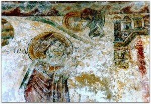 L'ange et la Vierge