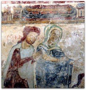 La Vierge et Joachim,