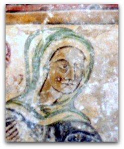 Visage de la Vierge
