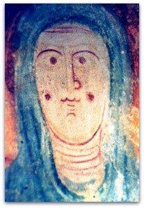 Visage de la Vierge de Palluau