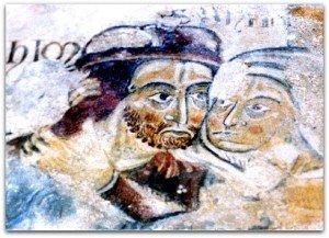 La rencontre de Joachim et Anne