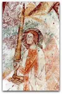 Ange tenant l'épée(XIV ième siècle)