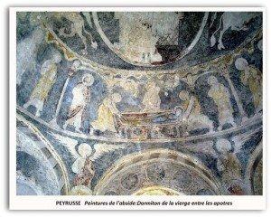Peyrusse,la dormition de la Vierge