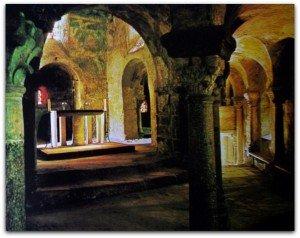 Oratoire primitif abritant les peintures