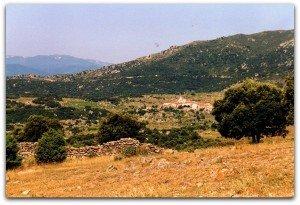 Le village d'Arboussols