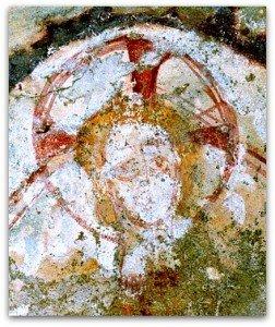 Visage du Christ de Azé