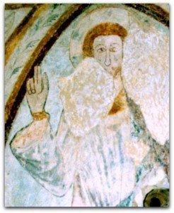 Le Christ de Coulongé dans sa mandorle