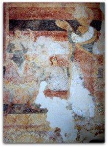 St Christophe face aux fleches de Dannus