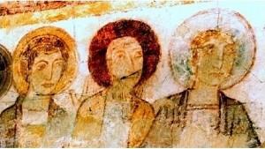 Apotres (Détail de la Céne)à Amné